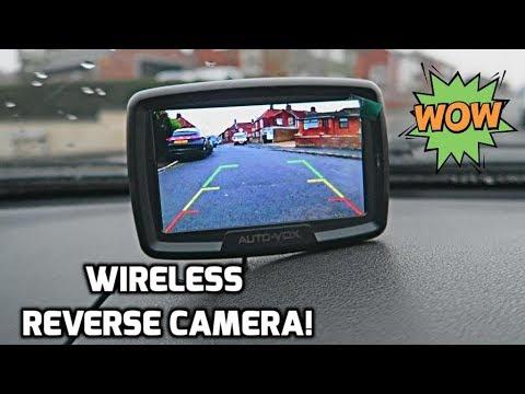 AutoVox Wireless Reverse Camera!