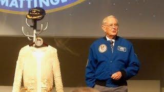 Apollo 16 Moonwalking Astronaut Charlie Duke Talks About His Flight In Germany