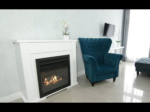 Lincoln – the true instant fireplace. Intelligent traditional bio ethanol fireplace