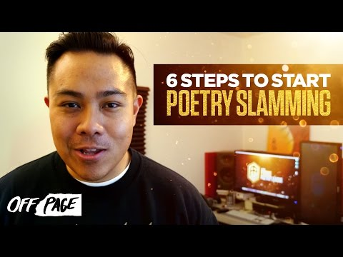 6 Tips to Start Poetry Slamming | OFF PAGE