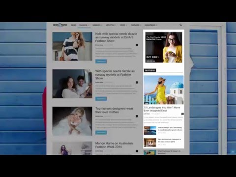 Newspaper 7 Tutorial - How to Create a Really Smart Sidebar