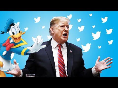Donald Duck Voice Reading Donald Trump Tweets