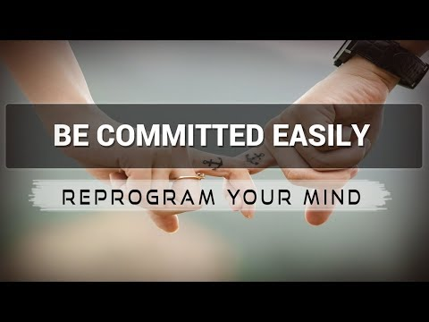 Commitment Phobia affirmations mp3 music audio - Law of attraction - Hypnosis - Subliminal