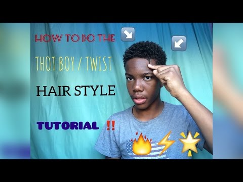 HOW TO: THOT BOY/ TWIST HAIRSTYLE TUTORIAL