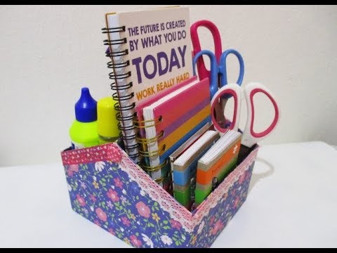 DIY : #210 Desk Organizer ❤