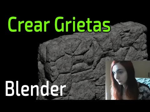 Crear Grietas y Fisuras con el addon