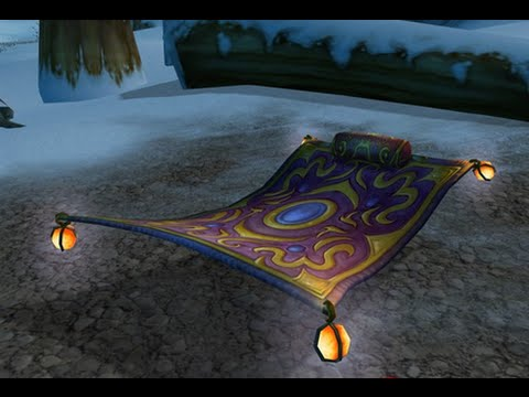 Wizard101 Tutorials: Floating Carpet Glitch