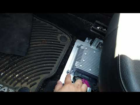How to Remove Amplifier from VW Passat 2012 for Repair.