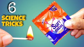 6 Easy Science Experiments To Do At Home