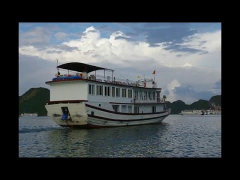 Day 2 - Halong Bay Junk Boat (Intrepid - The Best Of Vietnam And Cambodia)