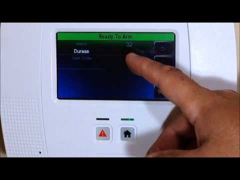 How to Add Delete or change user codes on your Honeywell Lynx Touch L5200 Alarm System