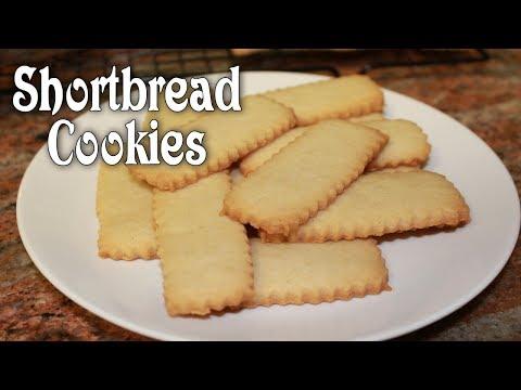 Shortbread Cookies ~ Just 4 Ingredients!