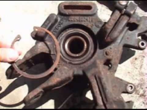 2004 mercury Mountaineer rear hub change