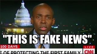 """Don Lemon ENDS SEGMENT After Guest Calls CNN """"FAKE NEWS"""""""