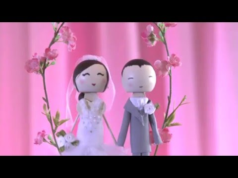 Wedding Cake Topper - ♥ DIY
