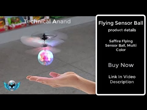Unboxing Flying Ball Kid's Toy|Sensor Ball|Review|Flying|Multi colour|new|Rc Toy|motion sensor|fly
