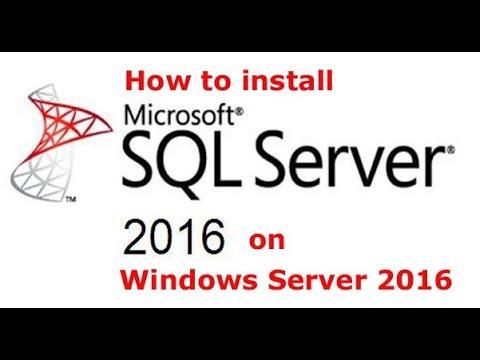 Step by Step Guide To Install SQL Server 2016