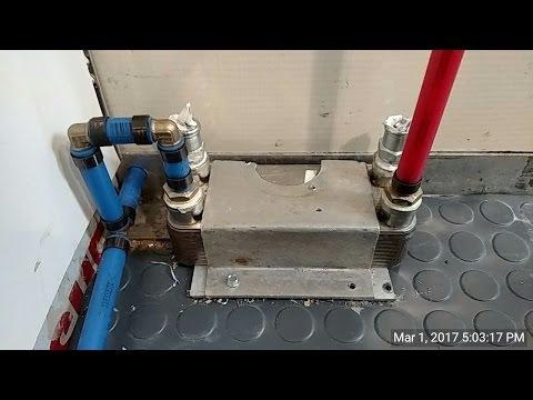Box Truck Camper 80 Shower Heat Exchanger pt3