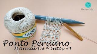 CROCHÊ PERUANO - MANUAL DE PONTOS #1 - HENRIQUE SILVA TV