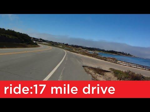 Ride: 17 Mile Drive (Monterey, CA)