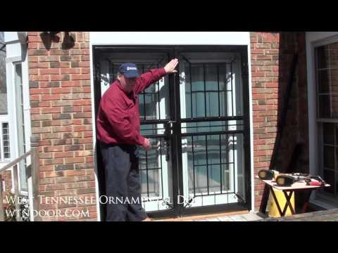 How to Install Double Security Storm Doors