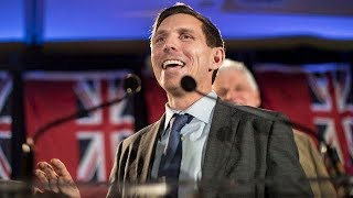 Patrick Brown returns to political stage