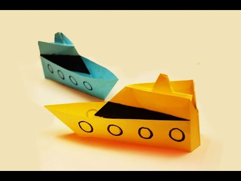 How to make a paper Boat?