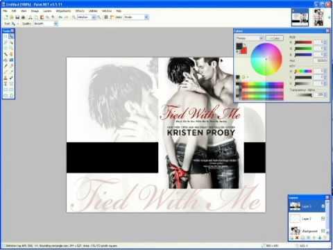 Paint.NET Tutorial - Book Blog Artwork