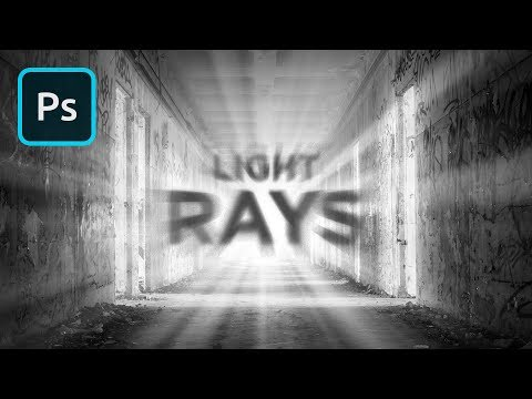 How to Create REALISTIC Light Rays in Photoshop