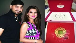Harbhajan Singh and Geeta Basra's Grand Wedding Invite! Check it out NOW!