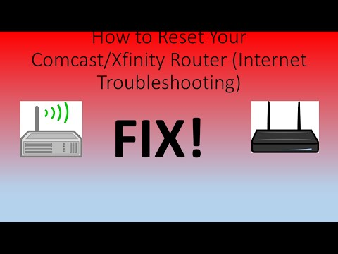 How to Reset Your Xfinity Router (Internet Troubleshooting)