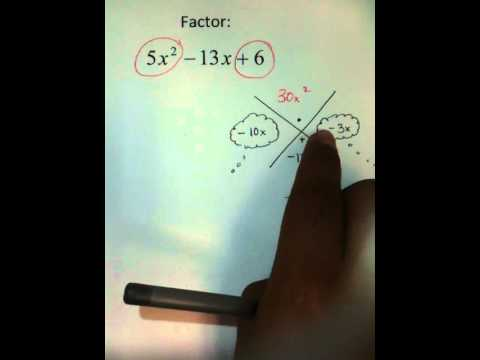 Moya Math Algebra 2 (Factoring Using Maagic X)