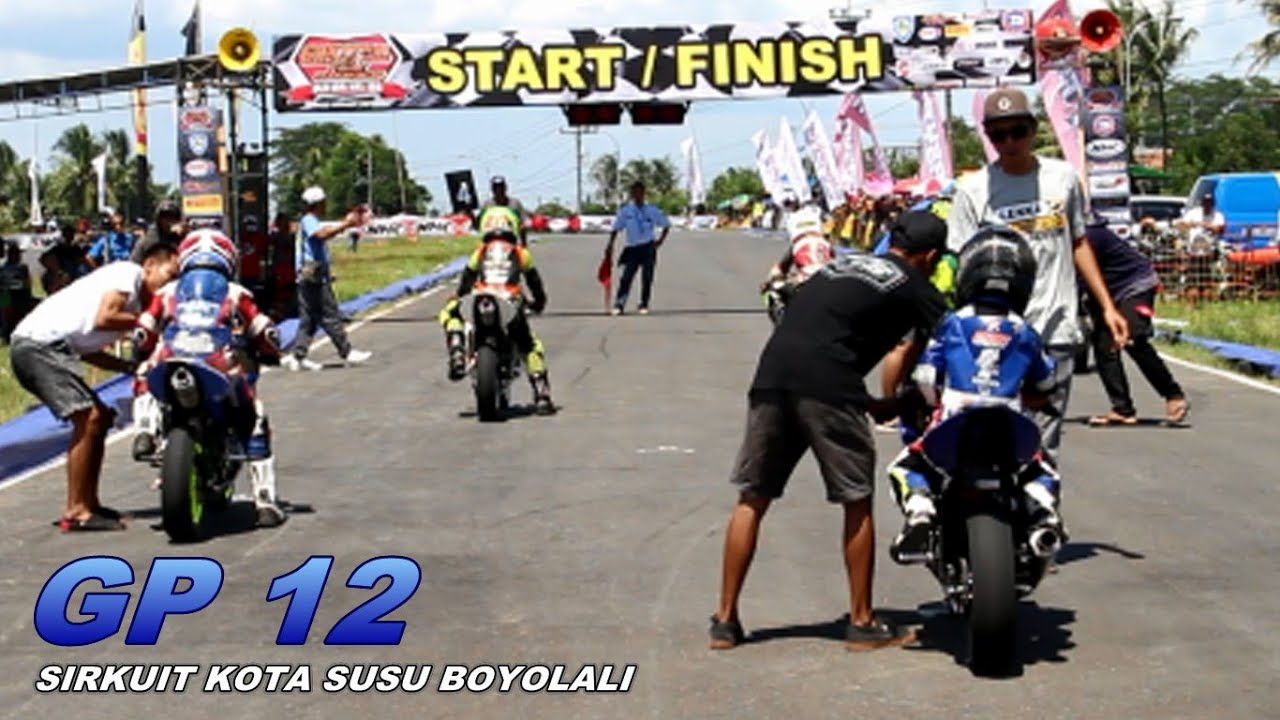 DAHSYAT MINI GP INDONESIA ROAD RACE GP 12 SIRKUIT BOYOLALI
