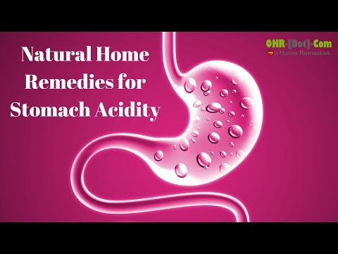 Natural Home Remedies for Stomach Acidity (Acid Reflux)