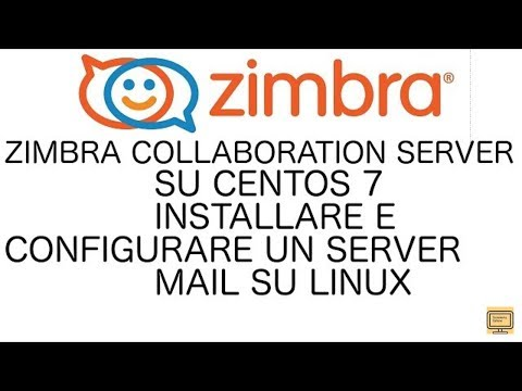 [CENTOS] - #48 Zimbra Mail server su Centos 7 1/2