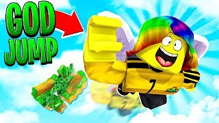 Download I JUMPED 999,999,999 FEET TO HEAVEN.. (Roblox) Video