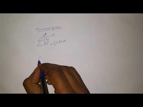 TRUNCATED PYRAMID VOLUME | FRUSTUM PYRAMID | FOR SSC CGL CHSL CPO