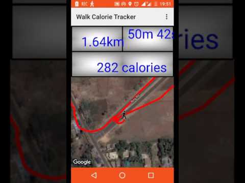 How many calories burned in walking ? use Walk Calorie Tracker   App