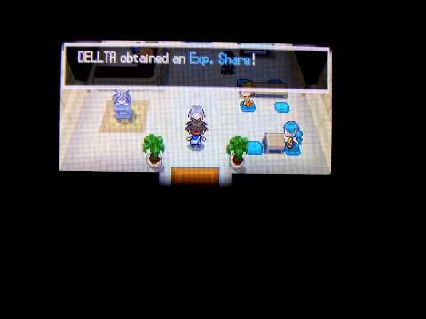 How To Get a Exp Share in Pokemon Black 2 White 2
