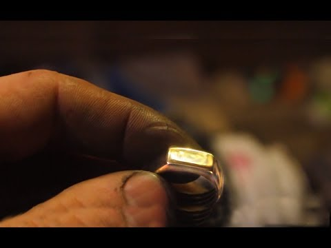 How To Make Ring From Brass Pipe Angle