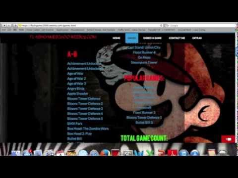 Best Weebly Gaming Site: Flash Games 2600