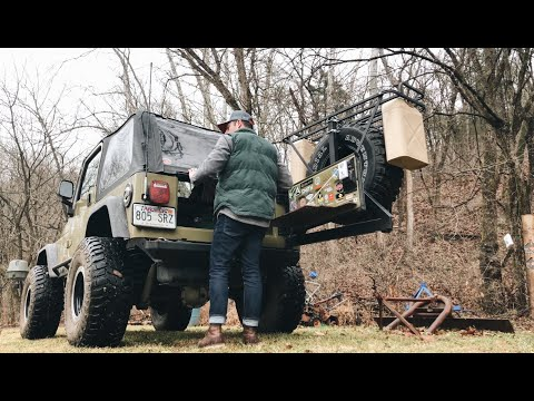A Day of Exploring in My Jeep Wrangler TJ