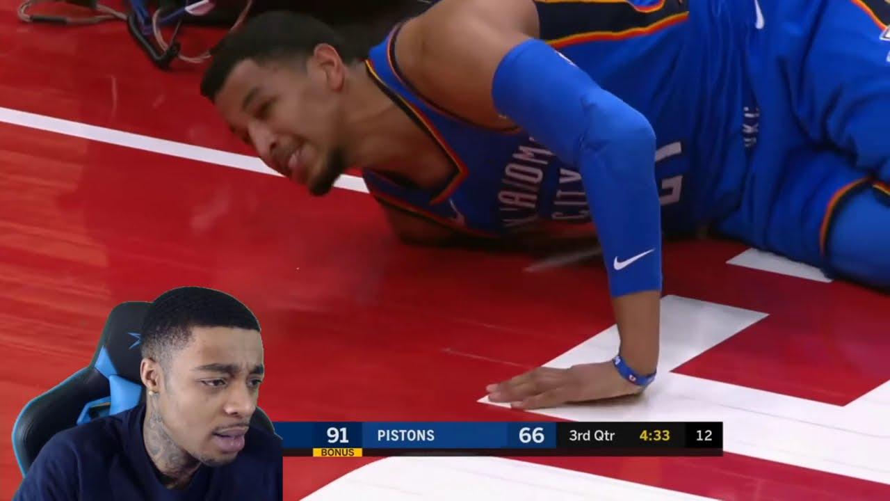"""FlightReacts NBA """"Scary Fall"""" MOMENTS!"""