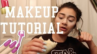 A VERY DISAPPOINTING MAKEUP TUTORIAL