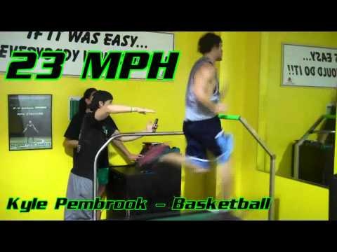 Whats your MPH? Athletes running faster than 20 MPH!
