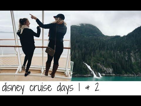 DISNEY CRUISE DAYS 1 & 2