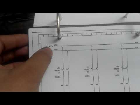 How to read electrical drawings of machines in hindi (part2)