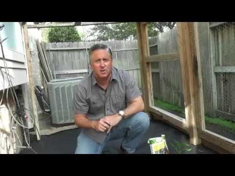 Make Gardening Easier - use weed barrier cloth