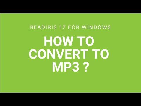 Readiris 17 - Audio
