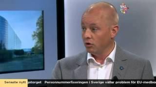Debatt: Tiggeriet - Björn Söder (SD) & Gustav Fridolin (MP) - Nyhetsmorgon (TV4)